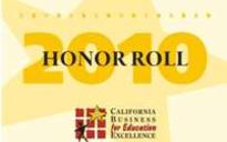 California Business of Education Excellence Award 2010